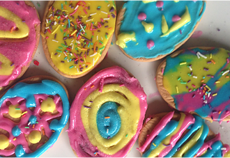 Decorated Cookies for Easter