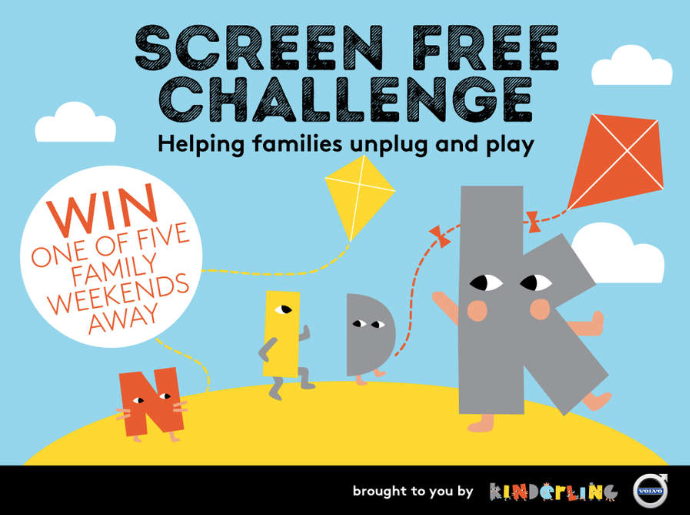 We're Taking the Kinderling Radio Screen Free Challenge!