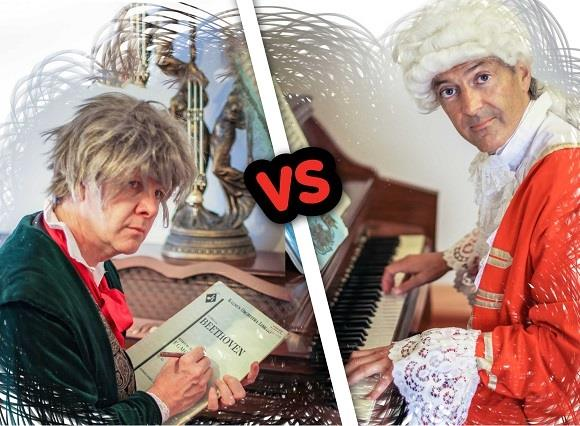 Mini Maestros: Beethoven vs. Mozart PLUS DOUBLE PASS GIVE AWAY