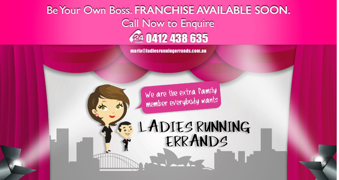 Ladies Running Errands Ryde