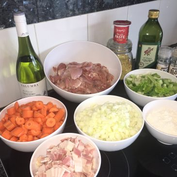 Meal Prepping: Easy Chicken Casserole