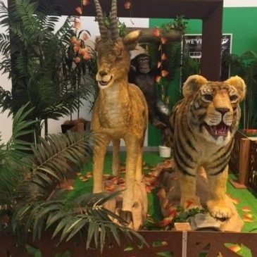 An Animal Zoo Safari is coming to Rhodes Waterside!