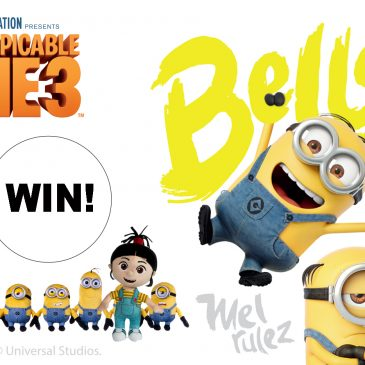 Despicable Me 3 GIVEAWAY!
