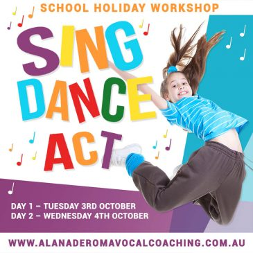 ADVC Performance Studio – October School Holidays Guide