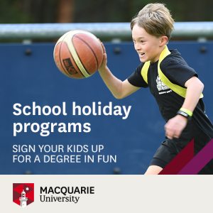 Macquarie University School Holiday programs