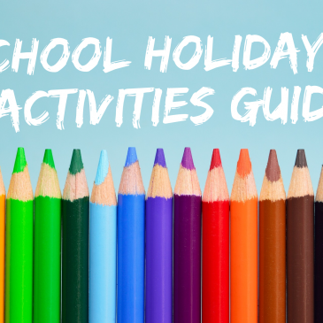 September / October School Holidays Activities Guide