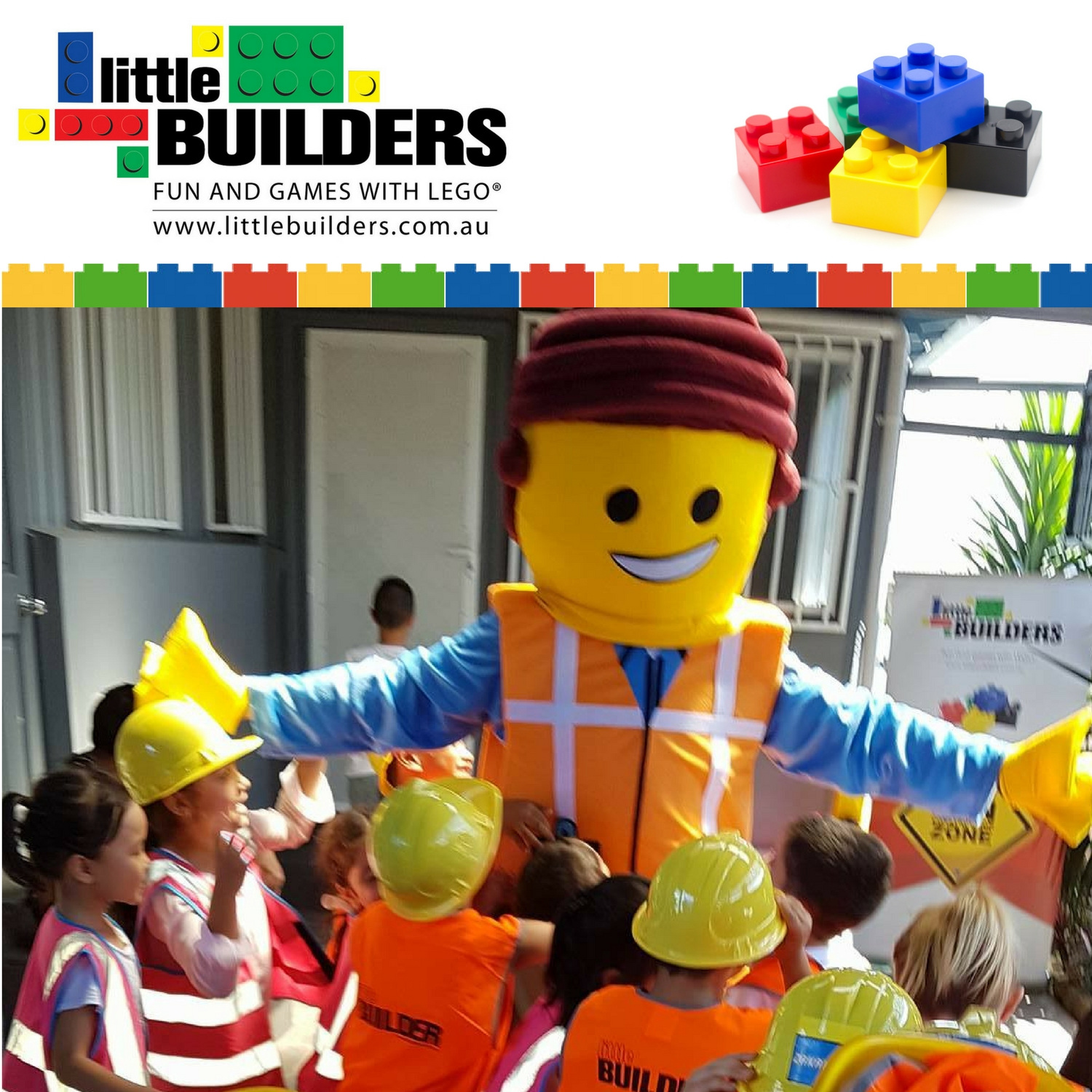 Little Builders Entertainment - Fun and games with LEGO®