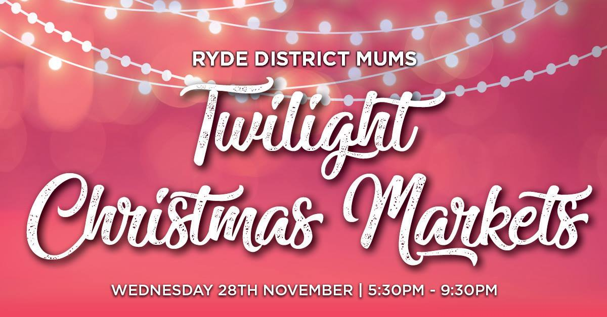 RDM Twilight Christmas Market – TICKETS NOW ON SALE!