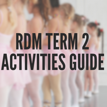 Term Two Classes & Activities Guide