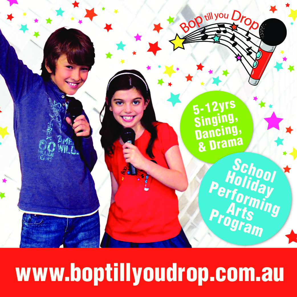 Bop till you Drop - School Holiday Program - Mosman
