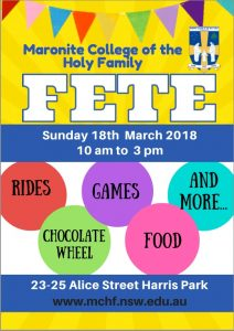 Maronite College of the Holy Family Fete
