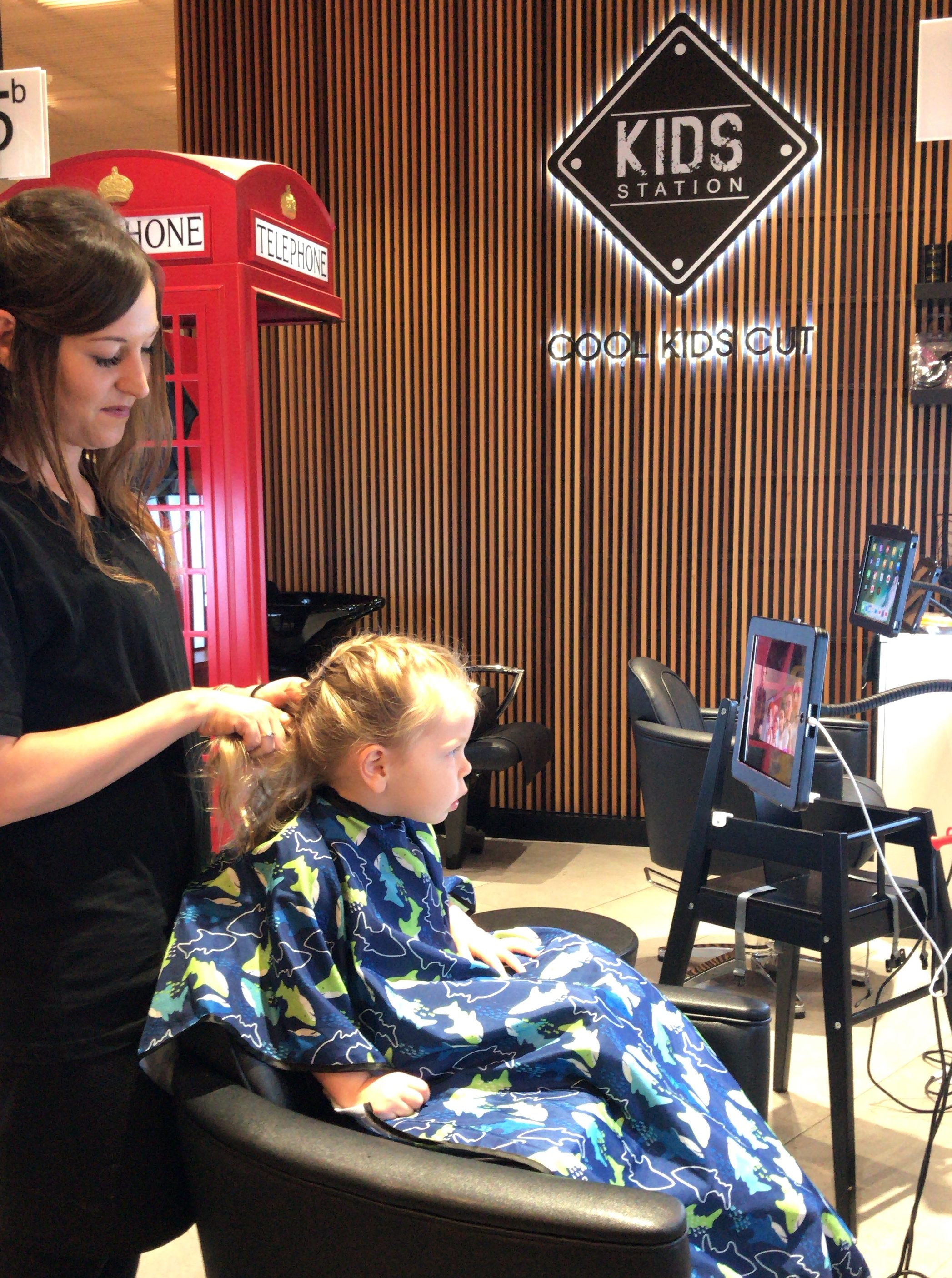 Kids Haircuts Made Fun At Cool Kids Cuts Top Ryde Shopping Centre