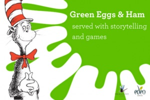Green Eggs & Ham Storytelling Breakfast, Eden Gardens