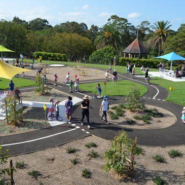 Ryde Park Upgrade