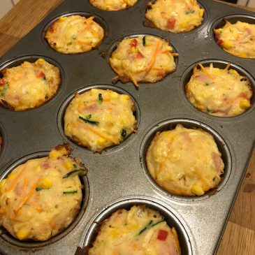 Lunch Box Ideas: The Easiest Veggie Muffins