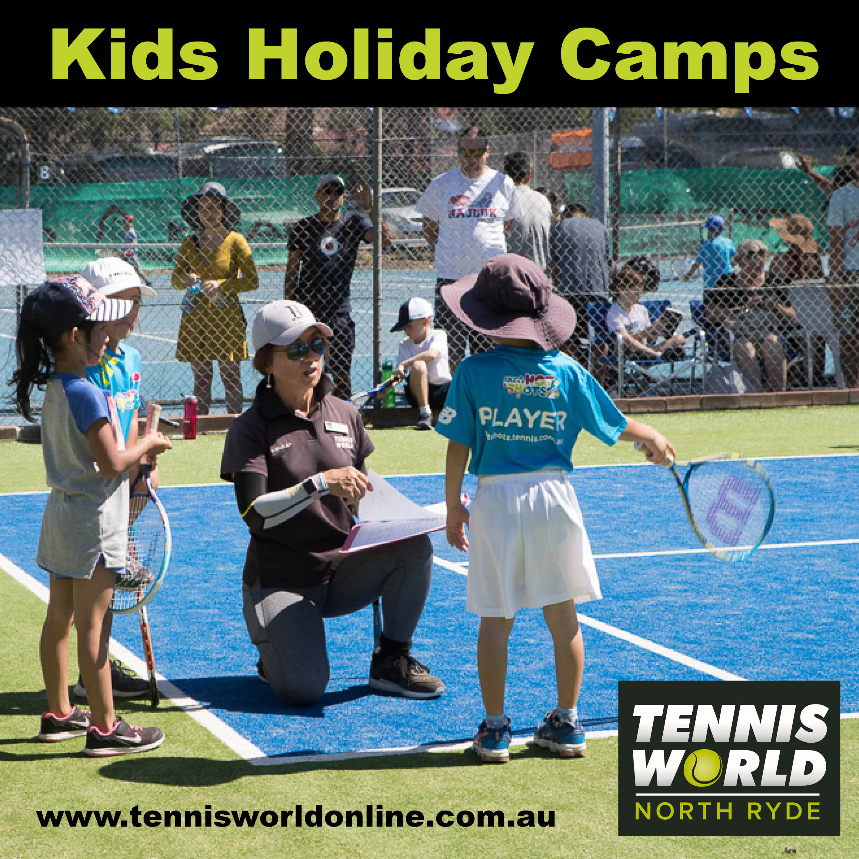 Tennis World North Ryde- October School Holidays Activities Guide