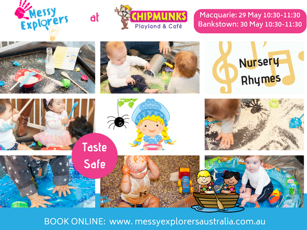 Nursery Rhymes Messy Play