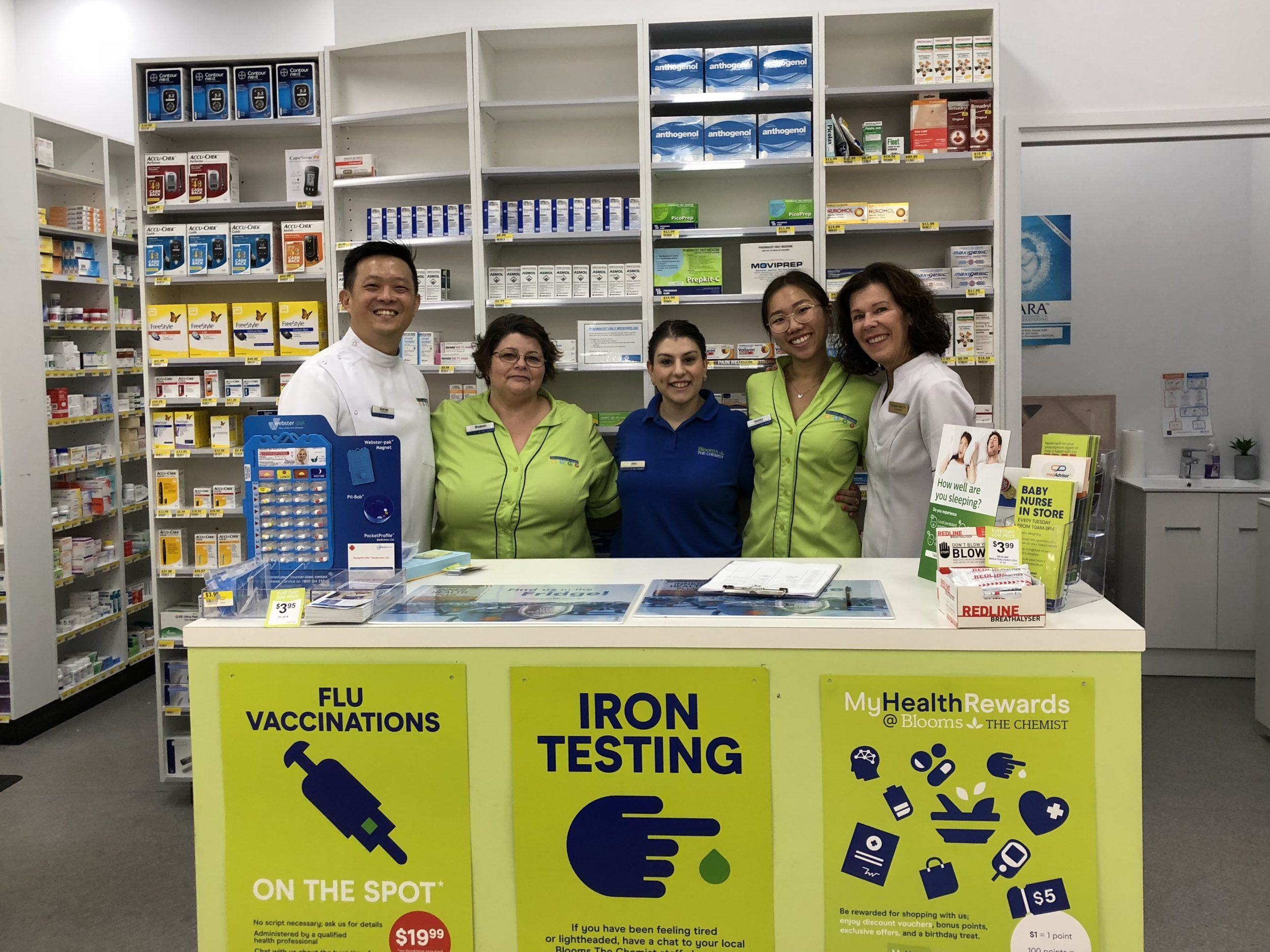 FREE Baby Nurse @ Blooms The Chemist, Top Ryde City