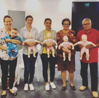 Baby and Child CPR + First Aid Class @ NORTH RYDE