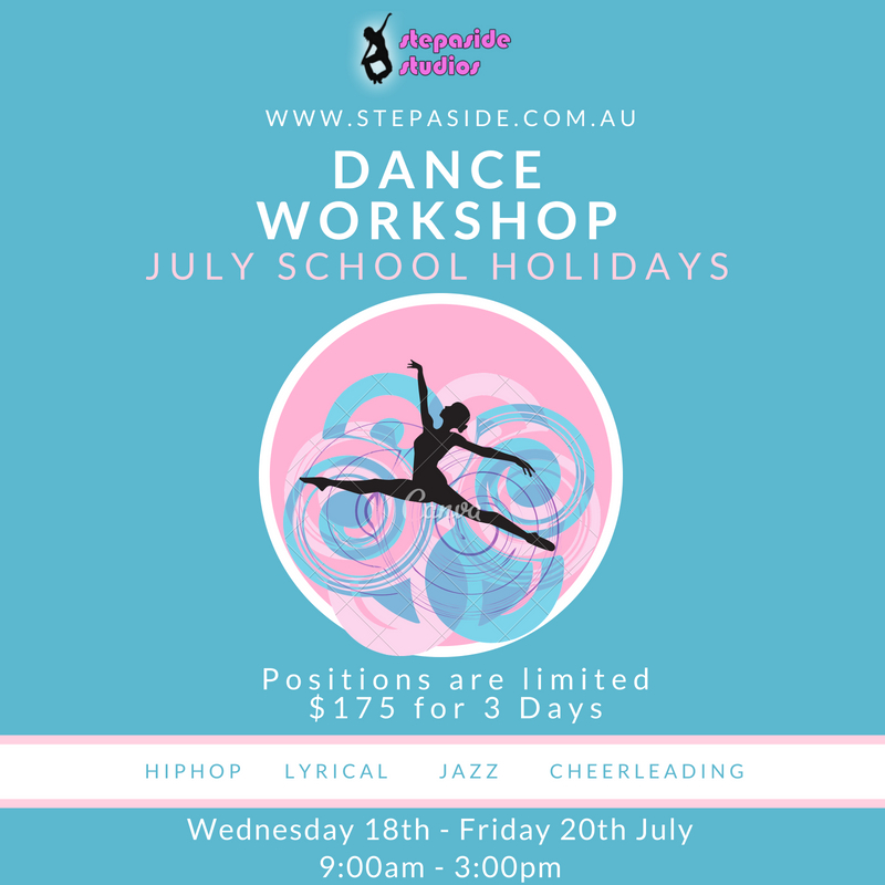 Stepaside Studios Dance Holiday Workshop