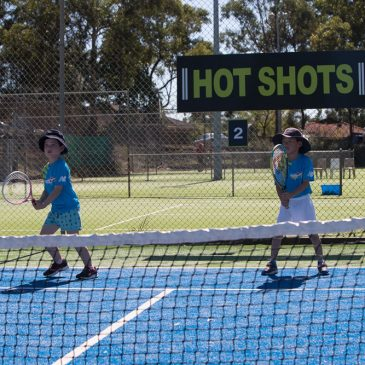 Free Tennis Racquet & Trial Class at Hot Shots Tennis, North Ryde!