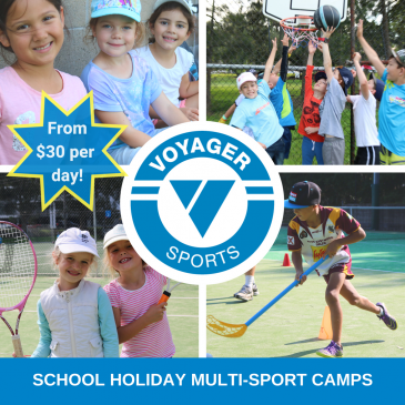 Voyager Tennis Ryde – January School Holiday Activities Guide