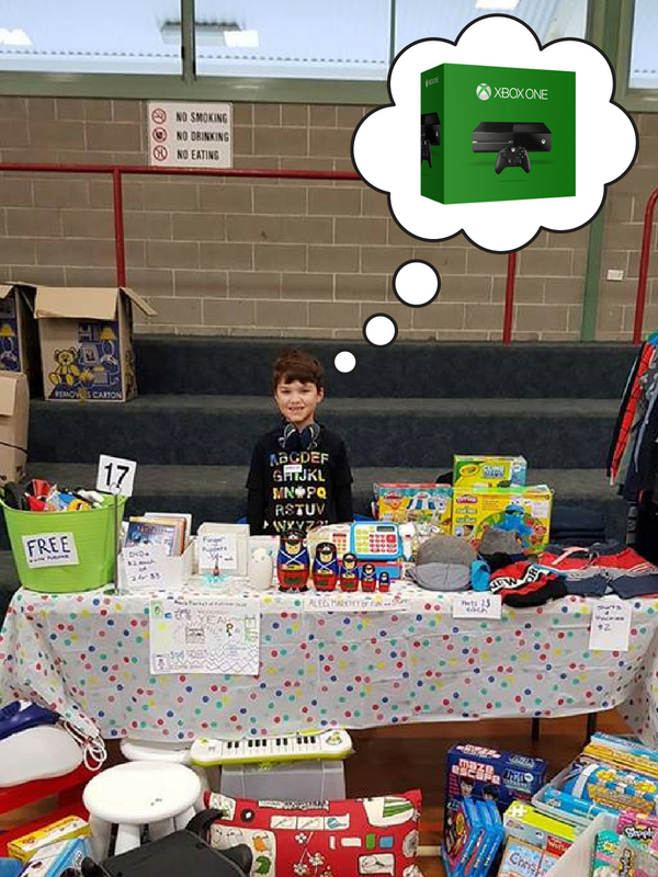 Convert Kids Toys Into Cash with a Market Stall!