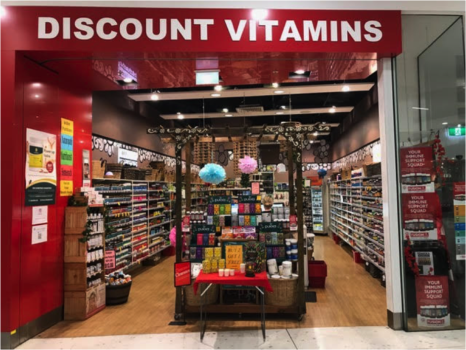 Discount Vitamins Top Ryde
