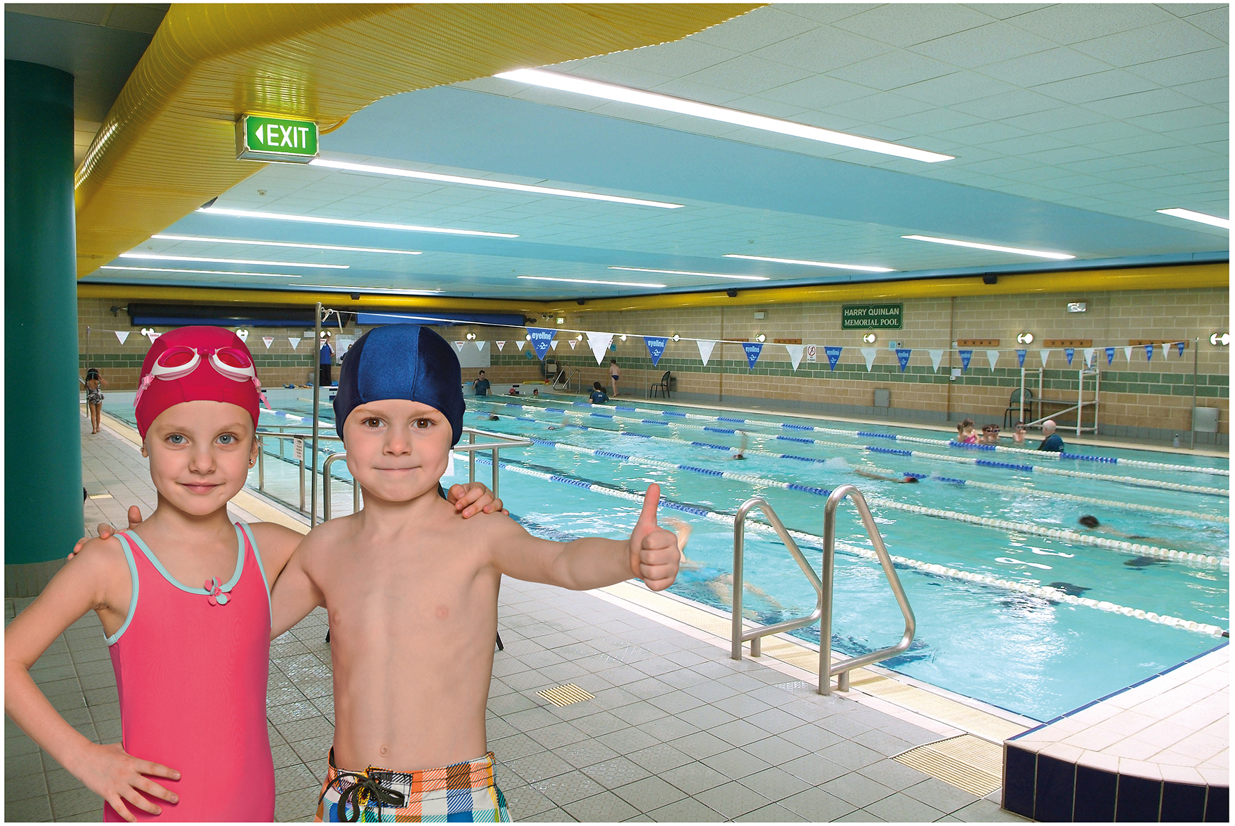 The fitness edge swim school ryde district mums for Eastwood high school swimming pool