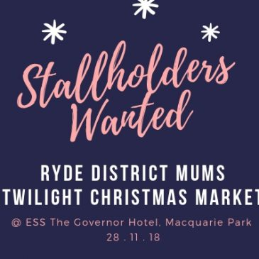 Stall Holders Wanted for RDM Twilight Christmas Market