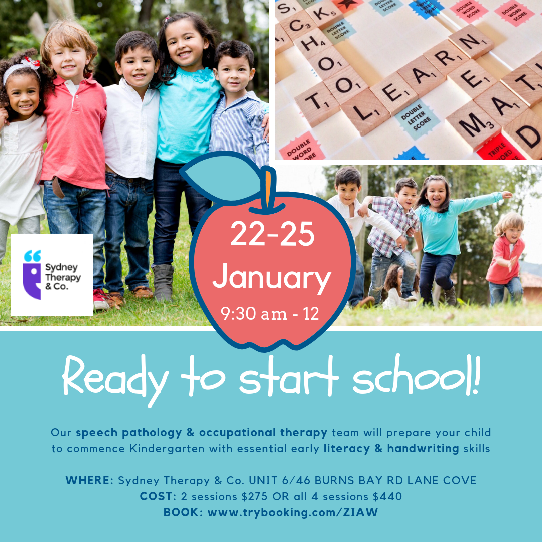 Sydney Therapy & Co. – January School Holidays Activities Guide