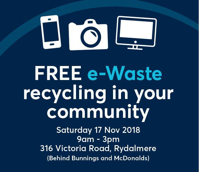 Community e-waste drop-off day, Rydalmere