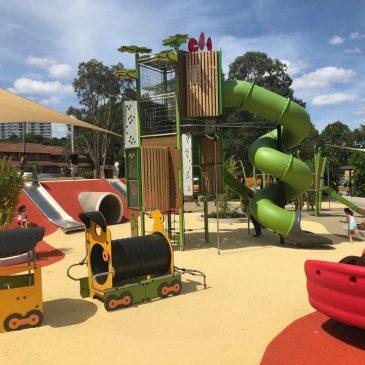 Ollie Webb Reserve, Parramatta