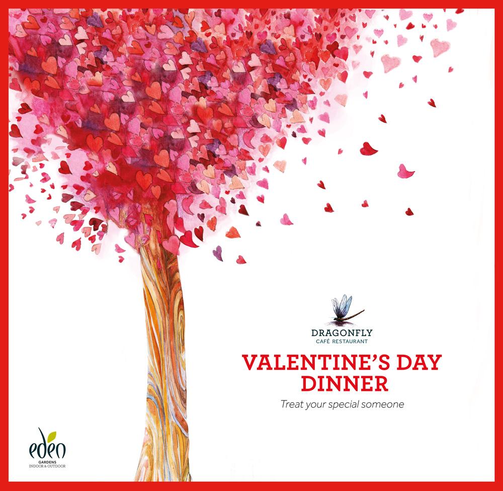 Valentine's Day Dinner, Eden Gardens