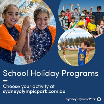 Sydney Olympic Park – April School Holidays Activities Guide