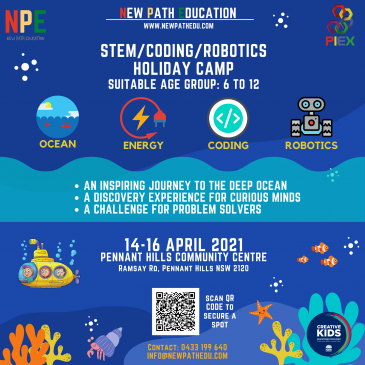 New Path Education – April School Holidays Activities Guide