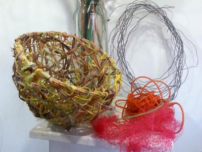 Random Weave Basket Workshop, EDEN GARDENS