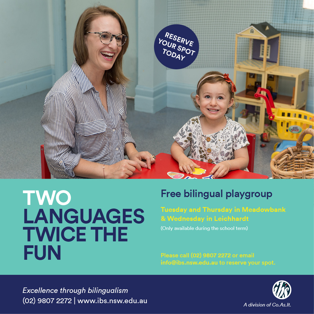 Italian Bilingual Playgroups, Meadowbank