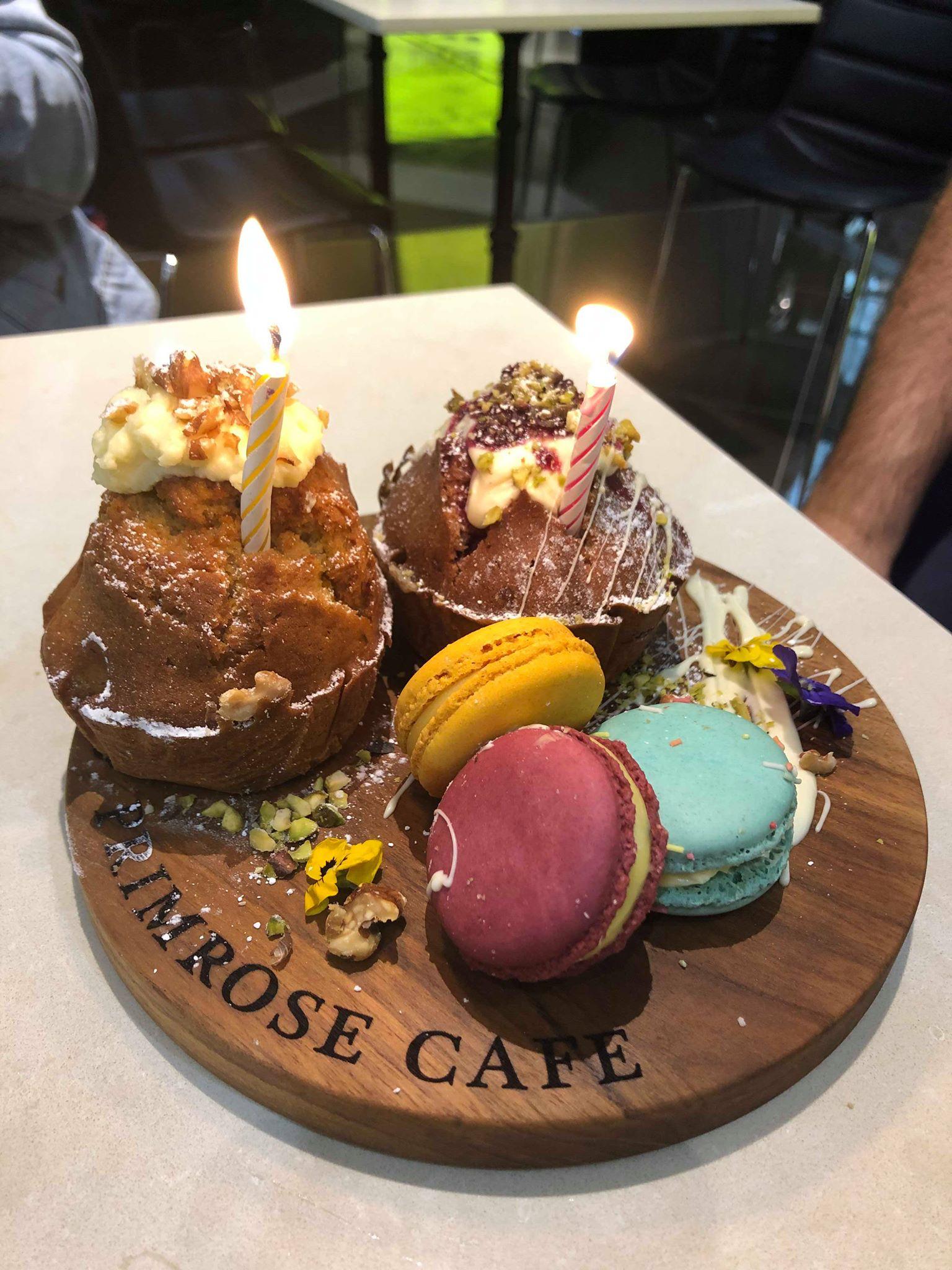 Primrose Cafe, Macquarie Centre