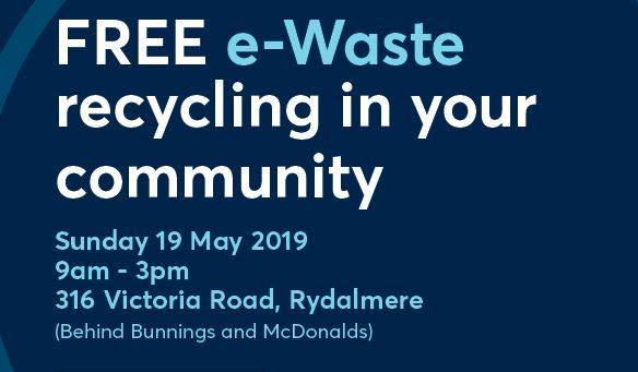 Community e-waste drop-off day