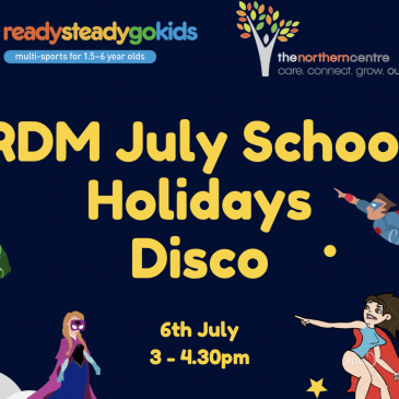 Ryde District Mums School Holiday DISCO + FUNDRAISER