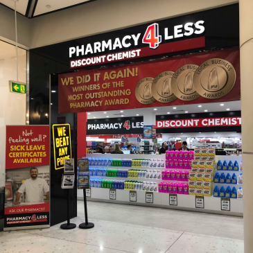 RDM Visits Pharmacy 4 Less, Top Ryde City