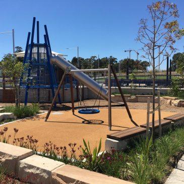 Lachlan's Line Park, Macquarie Park