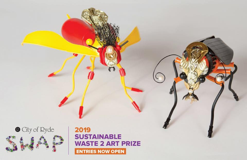 FINAL DAYS - SUSTAINABLE WASTE ART PRIZE 🎨 🖼 ♻️