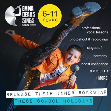 Emma Deans Sings – October School Holiday Activities Guide