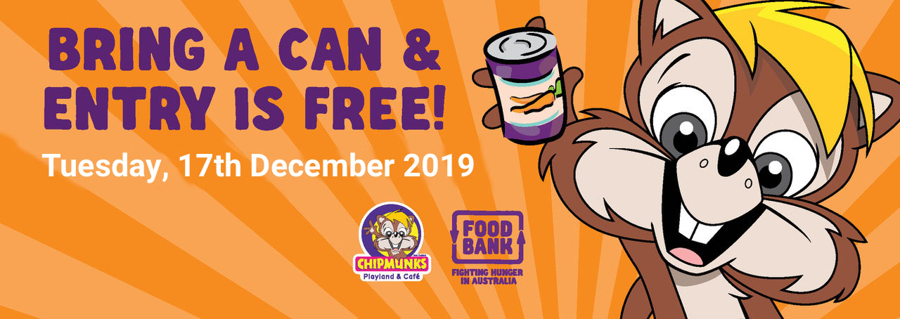 Chipmunks Macquarie - Bring a Can and Entry is Free!