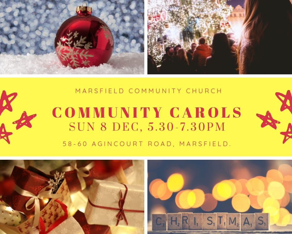 Community Carols, Marsfield Community Church