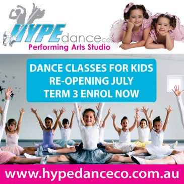 Term 3 Guide – Hype Dance Co. Performing Arts Studio