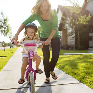 Learning To Ride a Bike: How & Where