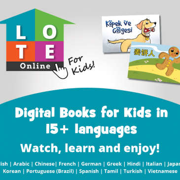 City of Ryde's LOTE Online for Kids – Sept/Oct School Holidays Activities Guide
